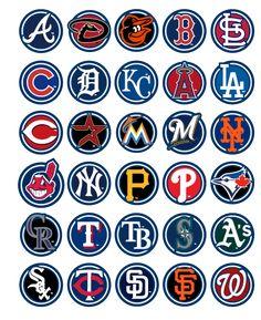 2012 MLB team logos