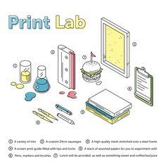 Print Lab - Screen Print Workshop on Behance