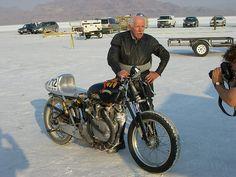 2007 Bonneville Salt Flat Racing  Steve Hamel 148,511mph