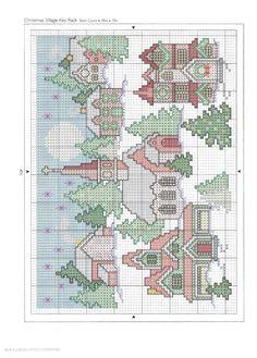 Návod -A Cross Stitch Christmas - Holiday Celebrations 17/1