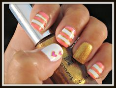 This is such a fun summer design! I recommend u check out southernsisterpolish.blogspot.com
