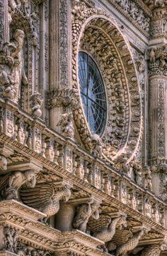 Church of Santa Croce - Lecce, Italy
