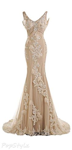 Cheap dress exotic, Buy Quality dress up free games directly from China dress up time prom dresses Suppliers: Champagne Couture Mermaid Wedding Dresses 2016 Backless Mermaid Bridal Dresses Hochzeitskleid Bridal Gowns China-Online-Store Dresses Elegant, Pretty Dresses, Vintage Dresses, Vintage Outfits, Simple Dresses, Evening Dresses, Prom Dresses, Formal Dresses, Sexy Dresses