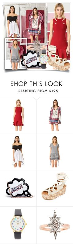 """""""Spring Punch!!"""" by stylediva20 on Polyvore featuring Seed Design, Cinq à Sept, Suboo, Torn by Ronny Kobo, Marissa Webb, Sophia Webster, See by Chloé, Kate Spade and MAHA LOZI"""