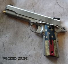 "1911 ALUMINUM ""COME AND TAKE IT"" GRIPS"