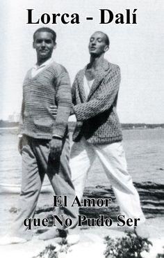 Federico Garcia Lorca and Salvador Dali story together Dali Quotes, Salvador Dali Art, Chuck Berry, Surreal Art, Art World, Vintage Photos, Love Story, Illustrators, Books To Read