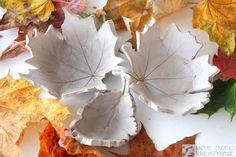 Jesienne liście krok po kroku