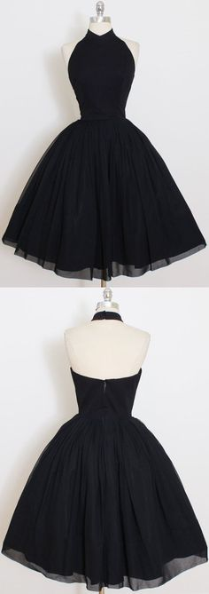 Black Homecoming Dresses, Short Homecoming Dress,Cute Black Short Homecoming Dress,,Short Prom Dresses,Lace V Neck Party Dresses