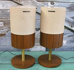 We'll always love these Electrohome speakers Hifi Audio, Audio Speakers, Custom Consoles, Record Players, Loudspeaker, Mid Century House, Vintage Industrial, Vintage Home Decor, Consumer Electronics