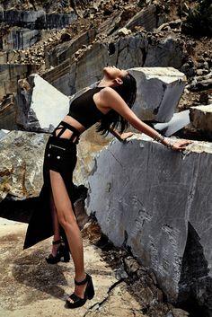 Vaccarello Versus Vogue Korea 2015