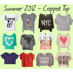 Summer 2012 Trend Alert - Cropped Top