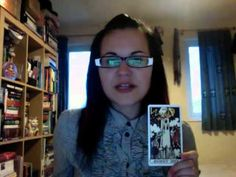 2. Part 1/2. 'Negative' Tarot Cards. By Kelly-Ann Maddox (The Four Queens)