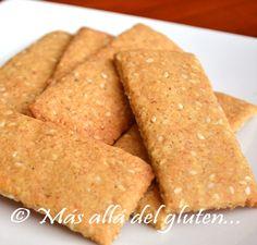 Más allá del gluten...: Galletas Saladas con Quinua y Ajonjolí (Receta GFC...