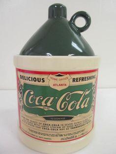 coca cola cookie jar - Google Search