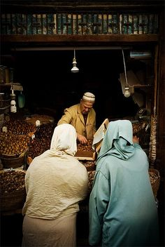 Morocco. In the souk of Fes | Flickr by Tiger808