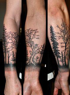 Tattoo Baum