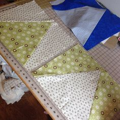 Triangle Convergence Quilt Steps
