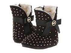 MICHAEL Michael Kors Kids Baby Grace Crystal 14 (Infant/Toddler) Black - Zappos.com Free Shipping BOTH Ways