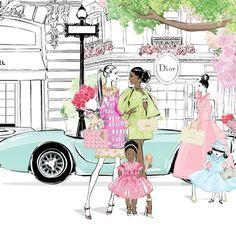Fashion Quotes, Fashion Art, Kids Fashion, Megan Hess, Australian Artists, Fashion Sketches, Fashion Illustrations, The Chic, Paper Dolls