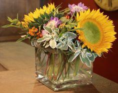 Fall Flower Arrangement Inspiration -{The Creativity Exchange}