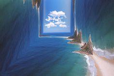 Folded Landscape Photography : folded landscape