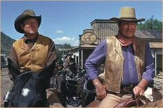 John Wayne & Ben Johnson