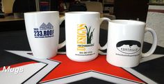 #promotionalproducts #promos #promoproducts #promotionaliteams #tradeshows #tradeshowswag #SignaramaColorado #Signs #colorado Promotional Product Ideas - Mugs
