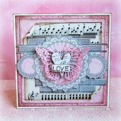 Card: Love *13 Arts guest designer*