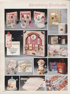Sears Christmas Catalog 1983 - Strawberry Shortcake