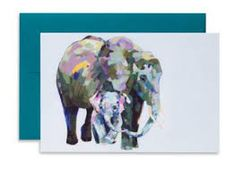 Paint a fathers day card - Google Search New Baby Cards, New Baby Gifts, Safari Nursery, Nursery Decor, Digital Printing Services, Baby Elefant, Gender Neutral Baby, Animal Cards, African Elephant