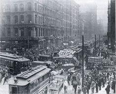Ruas de Londres no final do XIX