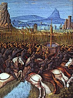 Medieval Mamluk Military in Ayyubid Dynasty Hattin