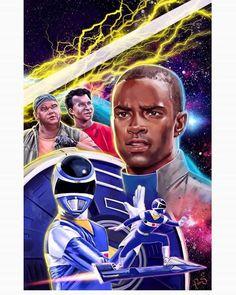 Let's Rocket! - Blue Power Rangers in Space