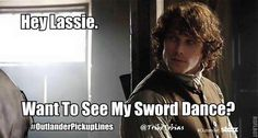 Want to see my sword dance?