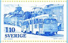 Tranvía de Gotemburgo 1977, Suecia 2