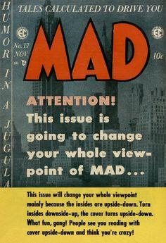 MAD Magazine Cover.