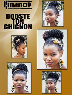 bykinanoe   Tutos et idées coiffure Boucles d'oreilles & Accessoires pour cheveux en wax : noeud, headband Créations Kinanoé Chignon braid bun