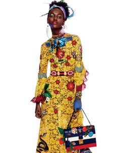 Anais Mali, Binx Walton, Herieth Paul, Marga Esquivel model resort 2016 for Vogue Japan February 2016 [fashion]