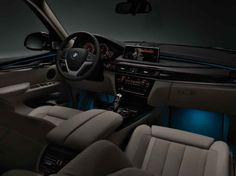Variable-Color Ambiance Lighting Bmw X5 2014, Bmw X5 M Sport, Lighting, Color, Light Fixtures, Lights, Colour, Lightning, Colors