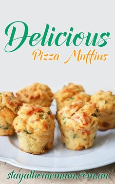 Delicious Pizza Muffins