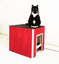 Katzenklohütte – Schritt für Schritt Anleiung und Vorlage