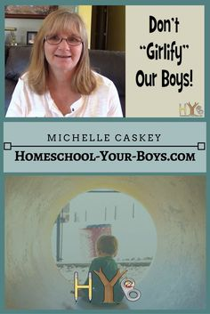 Today, I'm answering a reader's question: How do we make sure we don't girlify our boys?
