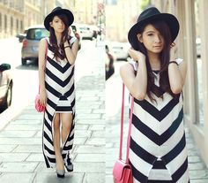 Cut Out Stripe Maxi, Hermës Constance Bag, Charlotte Olympia Dolly Pumps
