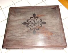 Up Cycled Tea Caddy Turned Jewelry Box - Only Available At The Looking Glass