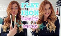 6 Ways to Get Beach Waves in Your Hair - Beachy Waves Hair Tutorial Beach Waves With Flat Iron, Easy Beach Waves, Flat Iron Waves, Beach Curls, Flat Iron Curls, Beach Wave Hair, Beachy Waves, Short Hair Waves, Waves Curls