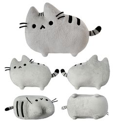 Pusheen plush! http://www.heychickadee.com/collections/pusheenthecat // Mamá! Quiero uno!