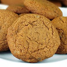 Triple the Ginger Cookies Recipe (powdered, fresh and crystallized ginger...good for warming you up this winter, and helps digestion...plus they are delish!!)