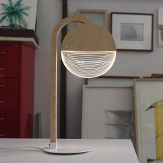 Studio Cheha City Lamp – House&Hold Birdcage Lamp, 3d Mode, Led Desk Lamp, Acrylic Sheets, Table Lamp Sets, Unique Lamps, Diffused Light, Globe Lights, Room Lights
