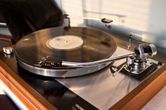 Thorens TD160B with SME 3009 Series II Improved tone arm and a Shure M75ED Type 2 cartridge. (with a Jico SAS stylus).