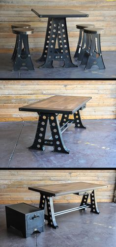 A Frame Table and Desk by Vintage Industrial Furniture in Phoenix, AZ